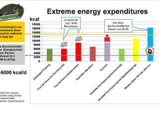 Energiezufuhr während der Tour de France