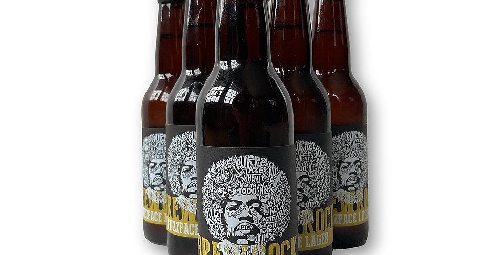 BrewRock Fuzzface beer