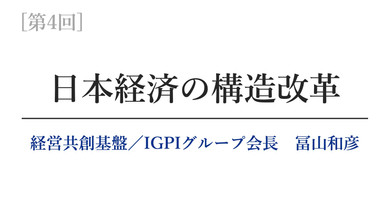 【第4回】日本経済の構造改革