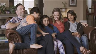 Sean and Beth Anders with their children.