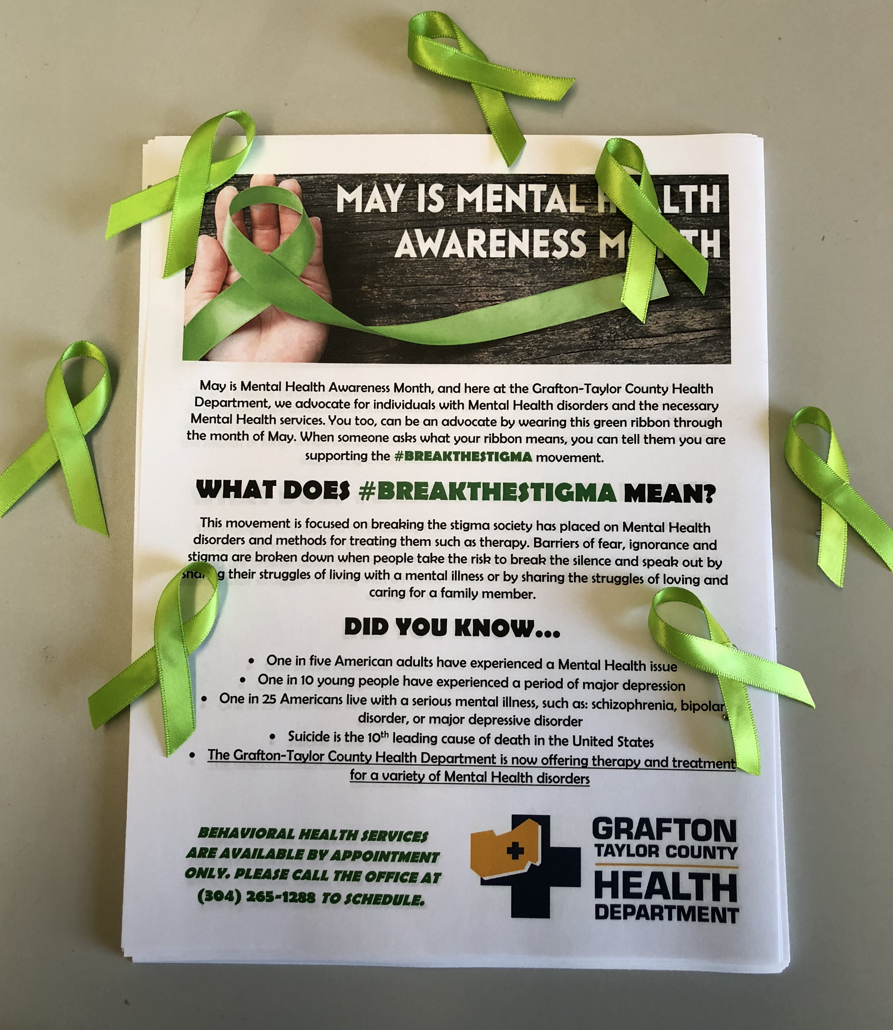Breakthestigma Grafton Taylor Co Health Department