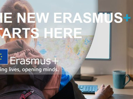 NEWS: Applications Open for the New Erasmus+ Programme