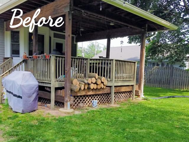 Before Garden Bed Install