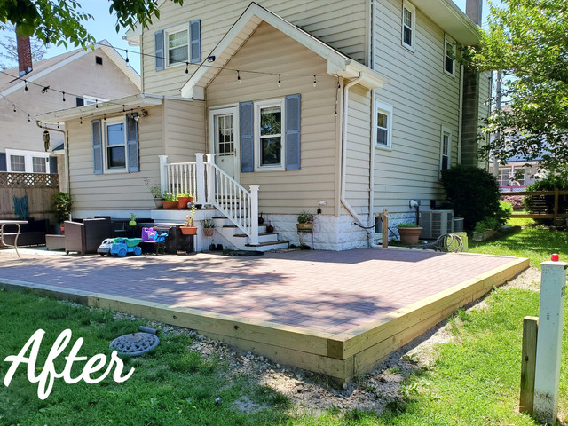 After Patio Expansion