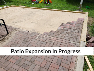 Patio Expansion