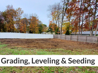 Grading, Leveling & Seeding