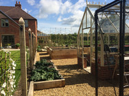 Fruit Trees and Vegetable Garden