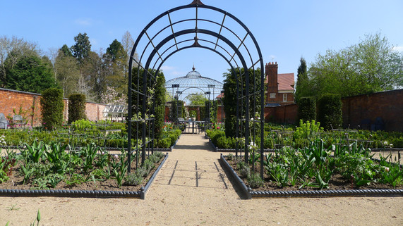 Walled Flower Garden