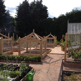 Walled Vege Beds