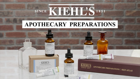 Kiehl's Since 1851: Apothecary Preparations Hero Video