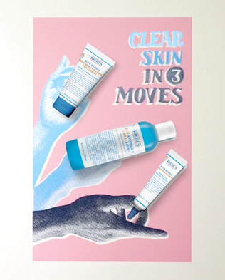 Kiehl's Since 1851: Blue Herbal Campaign