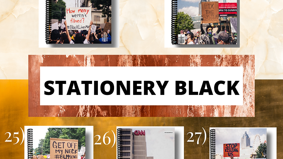 Black Lives Matter Notebook Collection #23-27