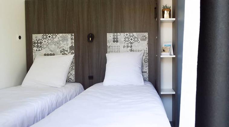 Twin beds child bedroom