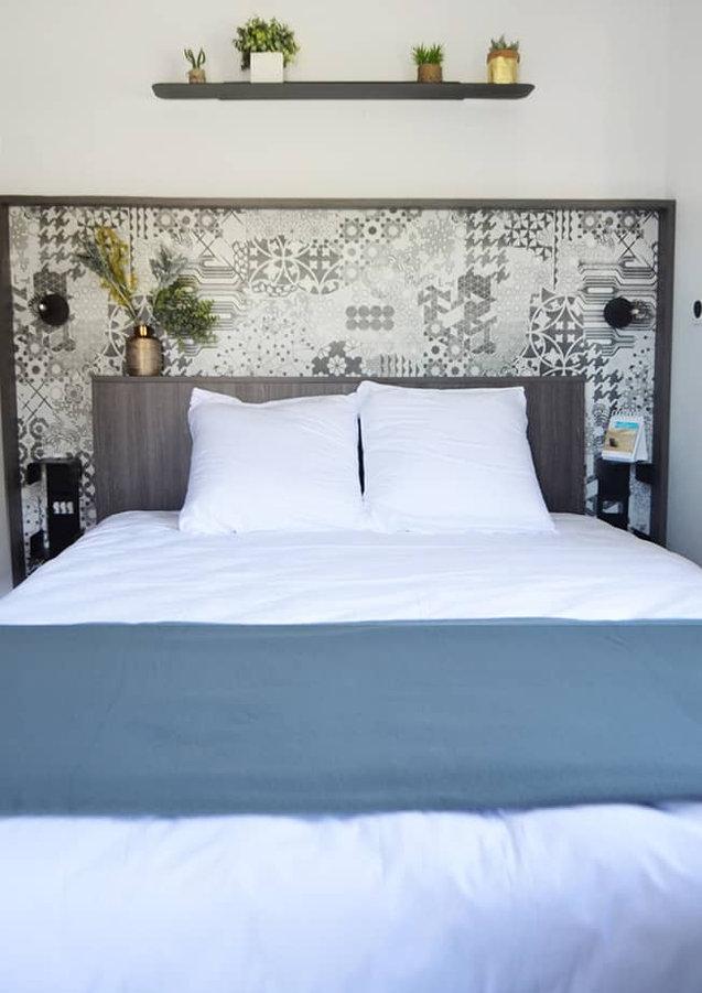 Lodge 6 people 2 separate bedrooms