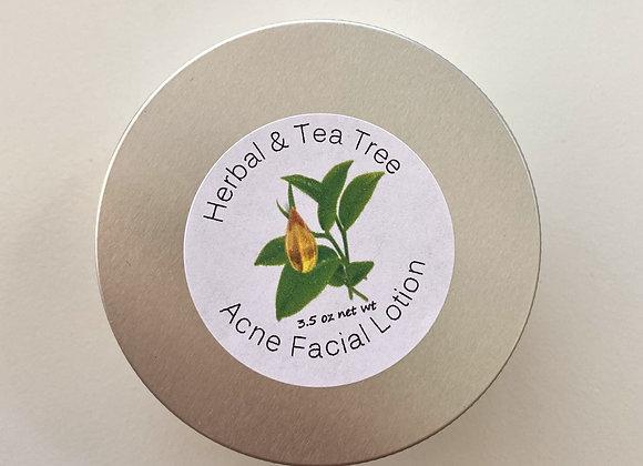 Herbal & Tea Tree Acne Facial Lotion