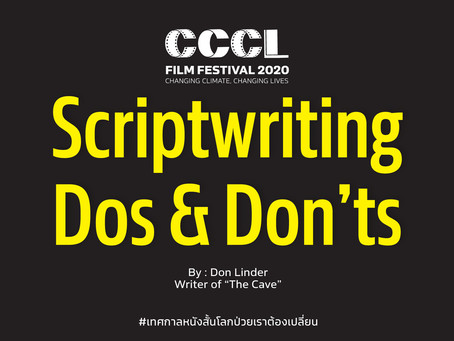 Script Writing Dos and Don'ts