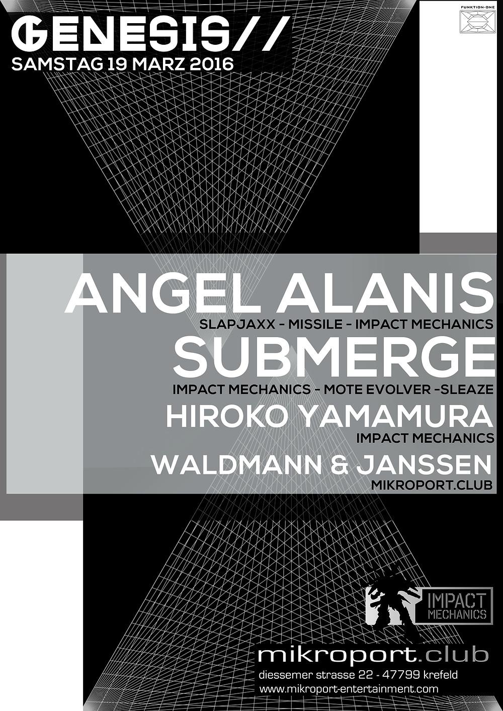 Angel Alanis Submerge Impact Mechanics