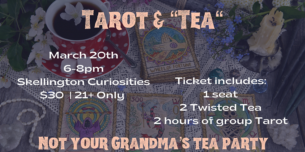 Not your Grandma's Tea Party