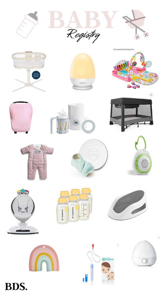 OUR BABY REGISTRY