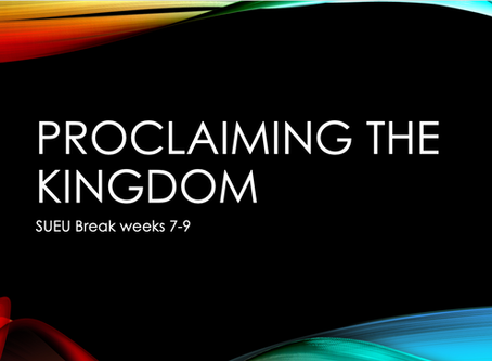 Proclaiming Jesus as King (Acts 2:22-41) // Break Week 7