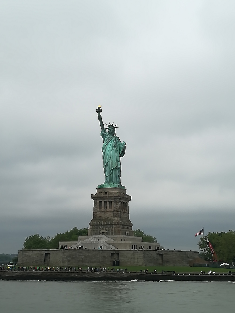 Statue of Liberty the iconic land mark of New York, USA