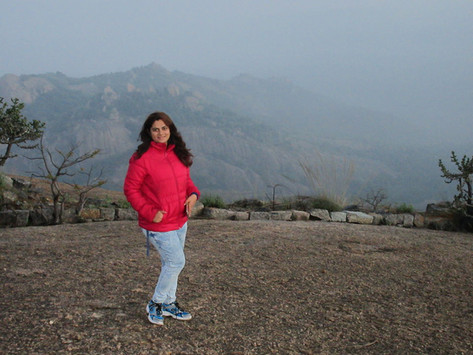 A full moon trek to Savandurga - a largest monolith hill in Asia!