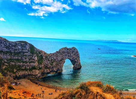 Durdle Door: No caption required! A single picture justifies everything.