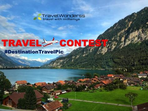 """Destination Travel Pic"" Contest!"