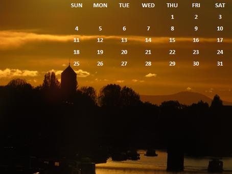 Free August 2019 TravelWonderss-travel with imRamya Calendar