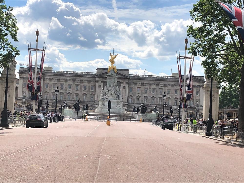 Buckingham Palace entrance London