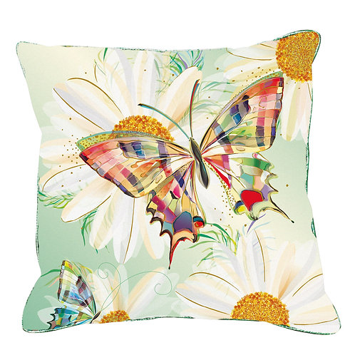 TURNOWSKY BUTTERFLY 45X45 COTTON CUSHION