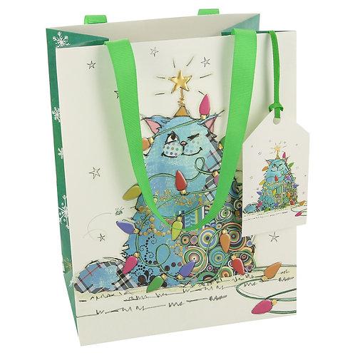 BUG ART CAT TREE LGE GIFT BAG, Min Qty: 6