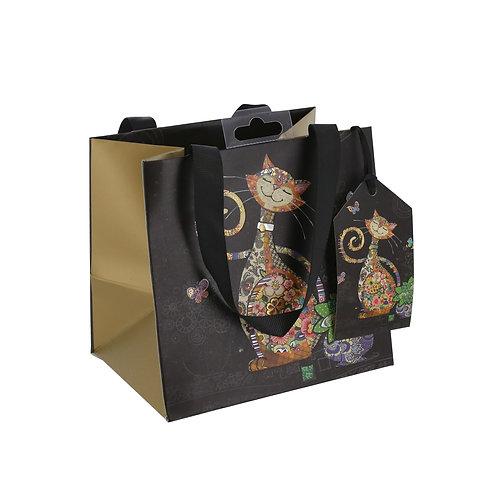 BUG ART TALL CAT PERFUME GIFT BAG , Min Qty: 6