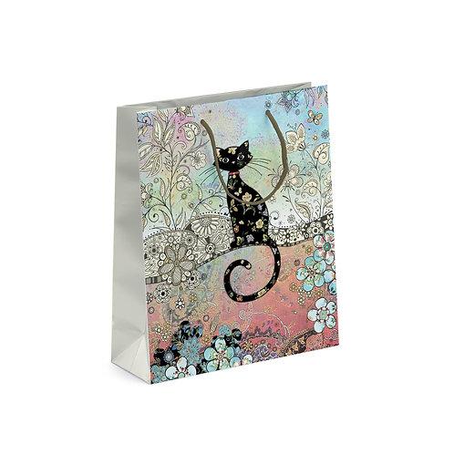 BUG ART CAT MED GIFT BAG, Min Qty: 6