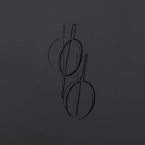 Balance Ear Drapes (Matte Black)