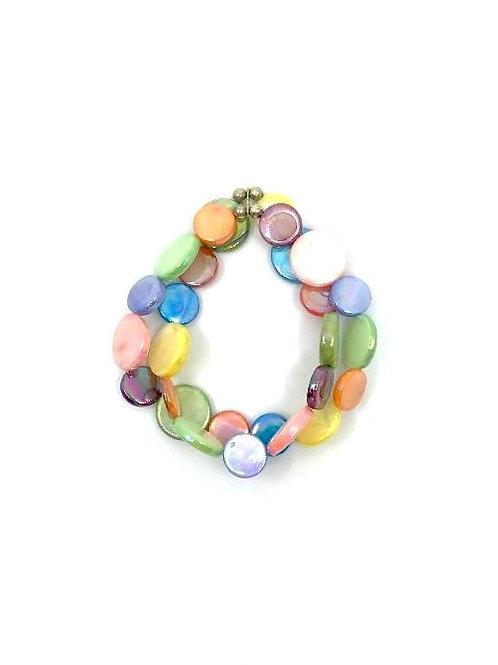 mother of pearl bracelet fruit salad