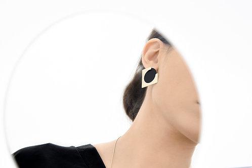 Ally Ear Jackets Gold Black