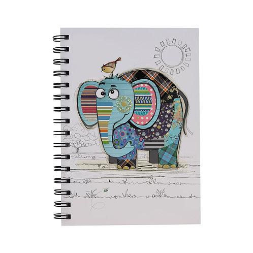 BUG ART A5 ELEPHANT NOTEBOOK, Min Qty: 6