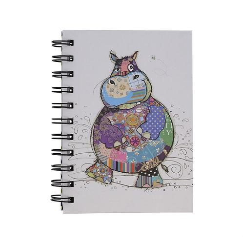 BUG ART A6 HIPPO NOTEBOOK, Min Qty: 6