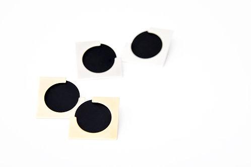 Ally Ear Jackets Black Silver