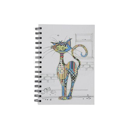 BUG ART A6 CAT NOTEBOOK, Min Qty: 6