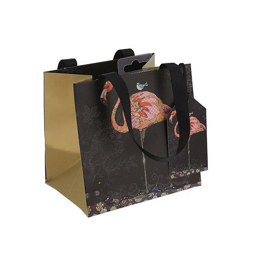 BUG ART PINK FLAMINGO PERFUME GIFT BAG , Min Qty: 6