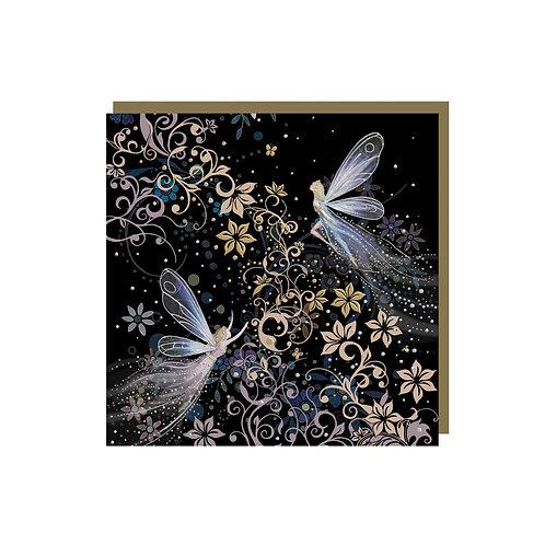 BUG ART FAIRY MINI CARD, Min Qty: 12