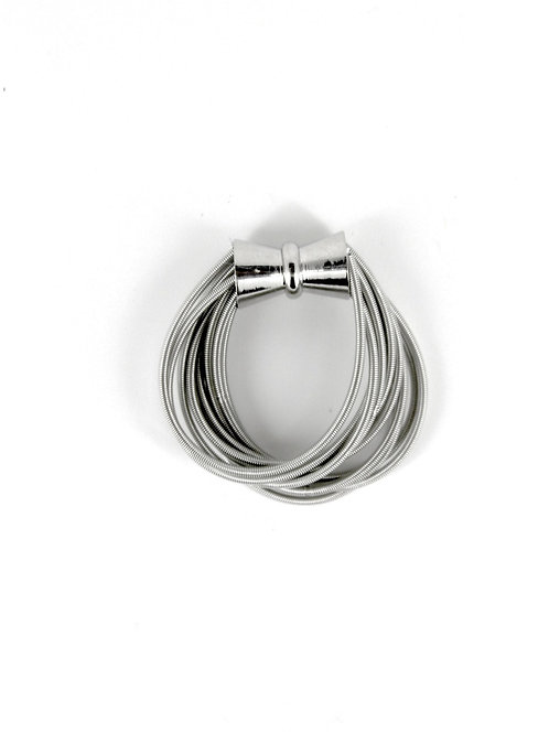 large silver piano wire extender
