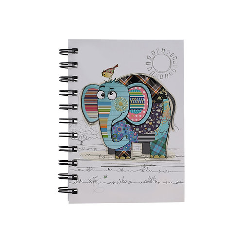 BUG ART A6 ELEPHANT NOTEBOOK, Min Qty: 6
