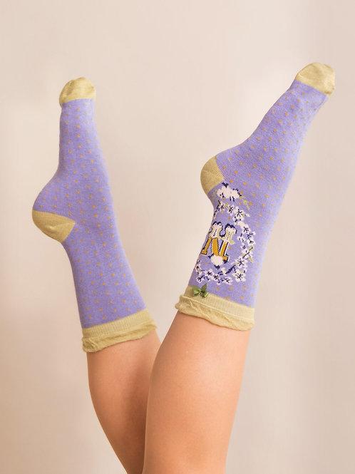 Letter N Socks