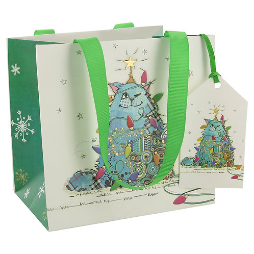 BUG ART CAT TREE PERFUME GIFT BAG, Min Qty: 6