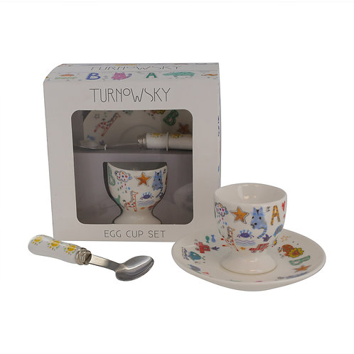 TURNOWSKY BABY PORC EGG CUP SET BOXED