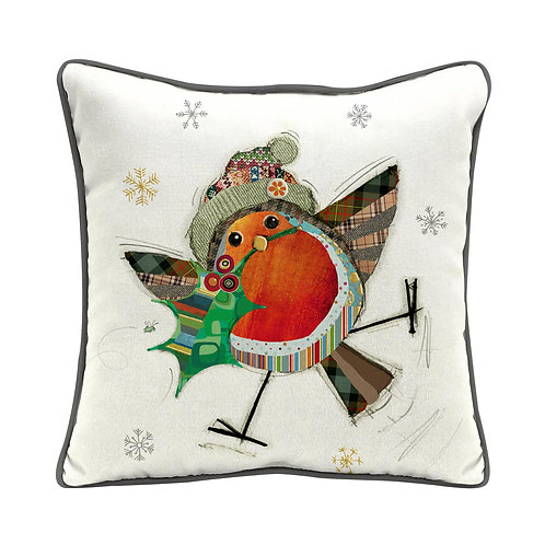 BUG ART ROBIN HOLLY CUSHION 35x35, Min Qty: 2