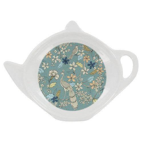 PEONY BOTANICAL TEA BAG TIDY, Min Qty: 12